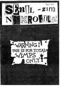 Senil-zine nekrofil Nr 01 TN