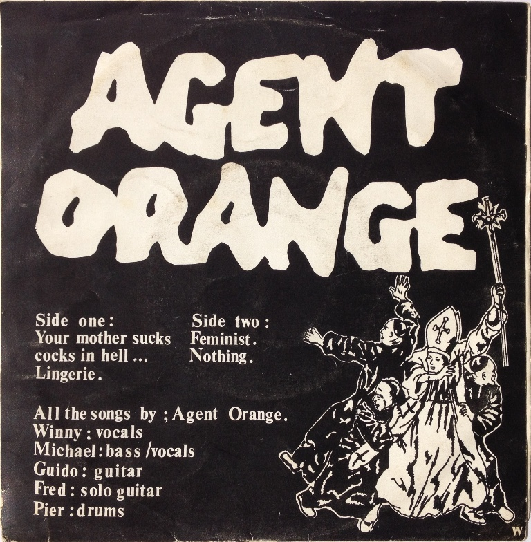 Have your mother suck cocks in hell agent orange can