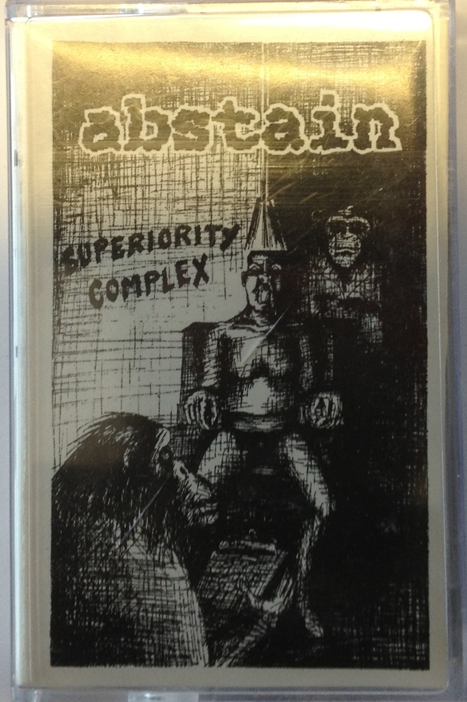 Abstain Superiority Complex 1996 Swedish Punk Fanzines