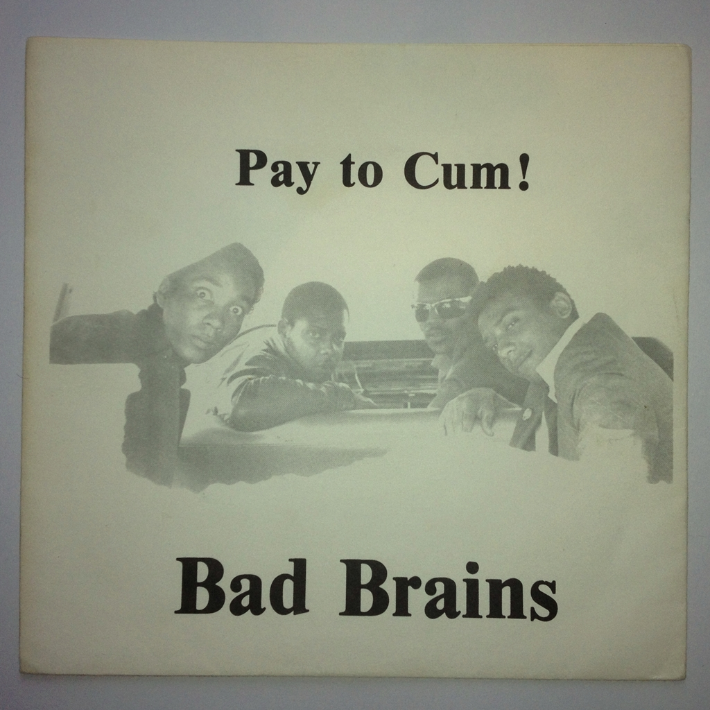 Bad Brains Pay To Cum 1980 Swedish Punk Fanzines