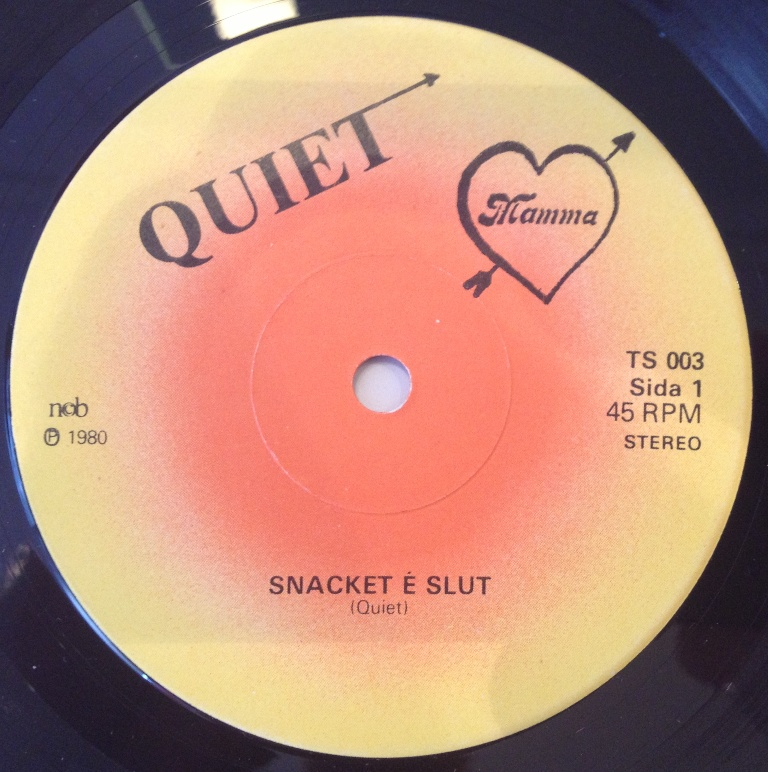 Quiet - Snacket E Slut / Monopoliserade Sanningar